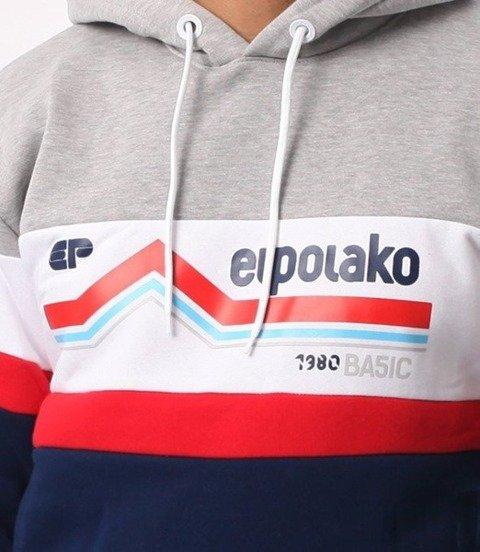 El Polako-Line EP Bluza Kaptur Szara Góra