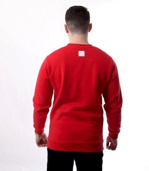 El Polako-Lines Handmade Bluza Czerwony
