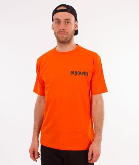 El Polako-Little Classic T-Shirt Pomarańcz
