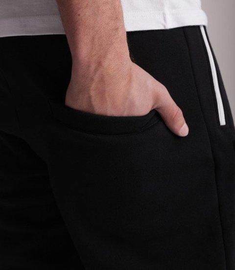 El Polako-Logobox Fit Spodnie Dresowe Czarne