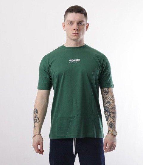 El Polako-Mini Logo T-Shirt Ciemno ZIelony
