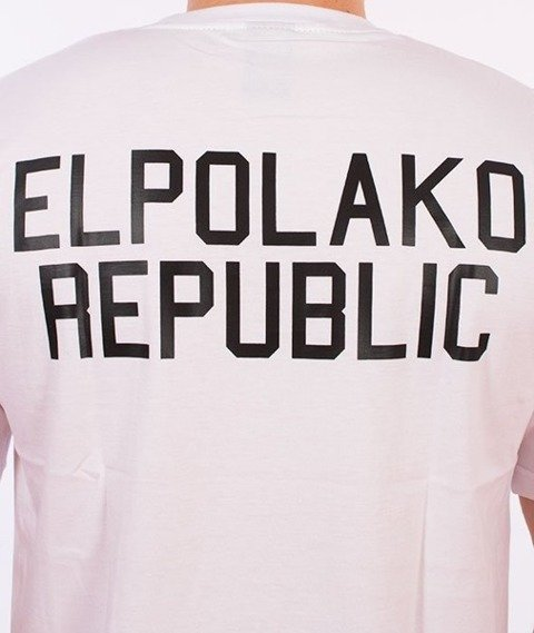El Polako-Mini Republic T-Shirt Biały