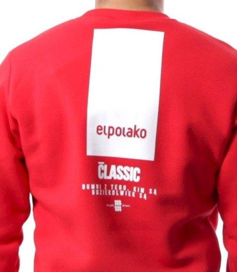 El Polako-New Box Bluza Czerwona