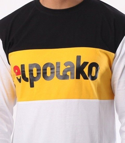 El Polako-New Elpo Longsleeve Biały