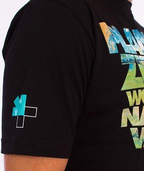 El Polako-Planeta Ziemia T-Shirt Czarny