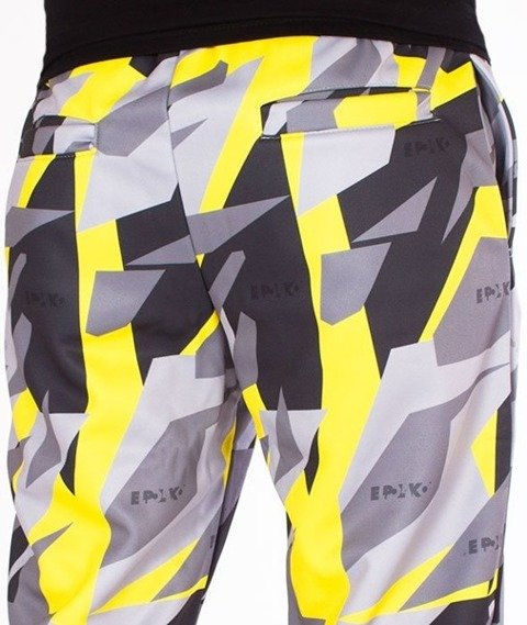 El Polako-Premium Triangle Moro Yellow Spodnie Dresowe