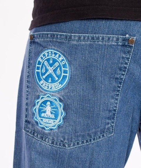 El Polako-RZPRDL Regular Jeans Light Blue