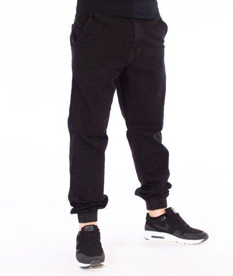 El Polako-Republic Regular Jogger Spodnie Czarny jeans