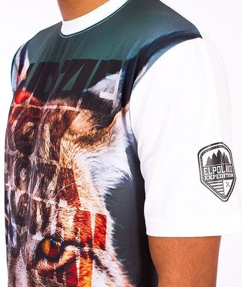 El Polako-Ryś T-Shirt Biały/Multikolor