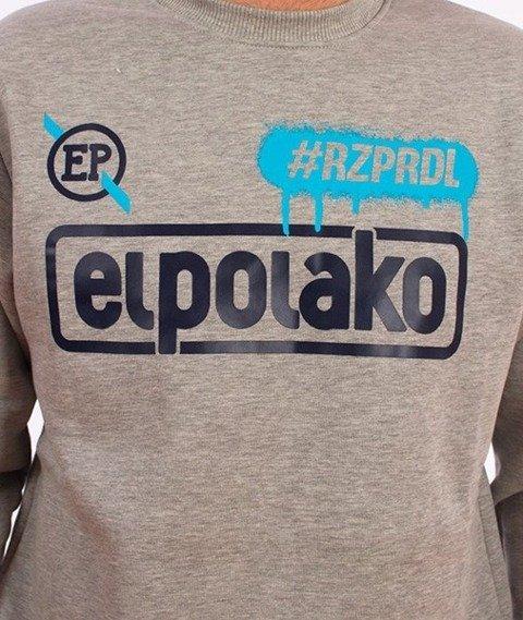 El Polako-#Rzprdl Bluza Szara