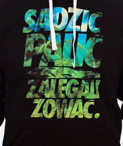 El Polako-Sadzić Bluza Kaptur Czarny