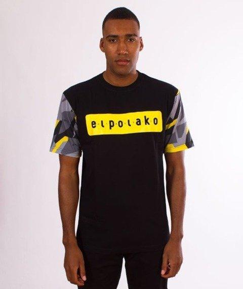 El Polako-Sleve Triangle Moro T-Shirt Yellow