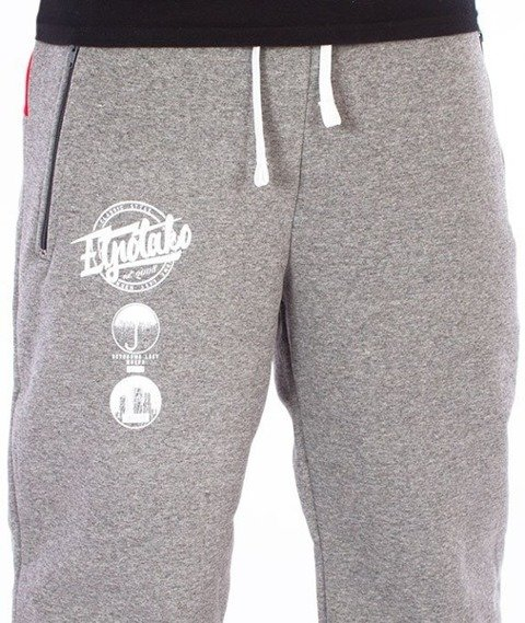 El Polako-Style Premium Spodnie Dresowe Grafitowe