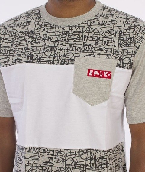 El Polako-Tags T-Shirt Szary