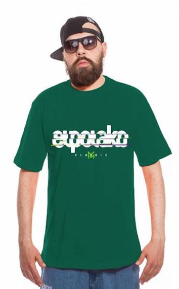 El Polako-VHS T-Shirt Ciemno Zielony