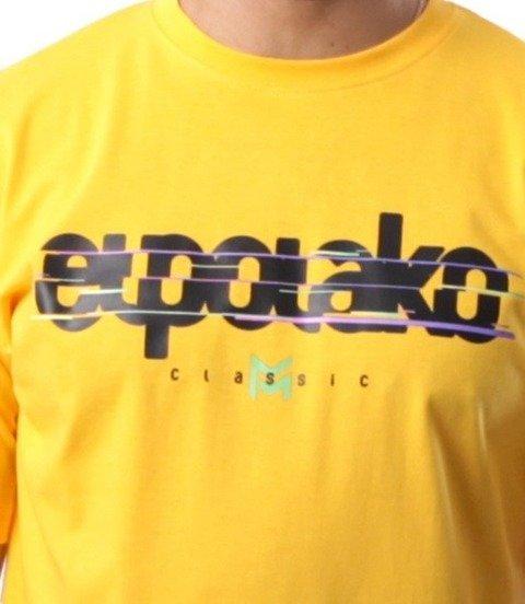 El Polako-VHS T-Shirt Żółty