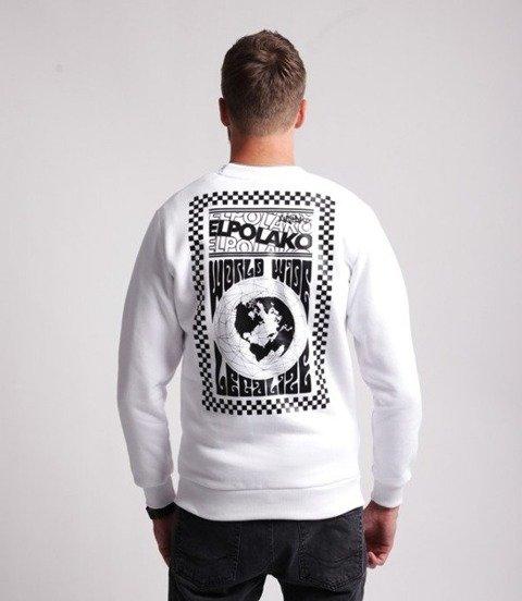El Polako WORLD WIDE Bluza Biały