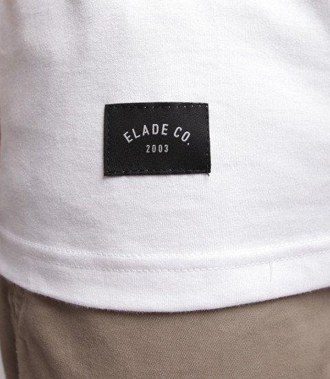 Elade College T-Shirt Biały