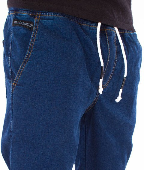 Elade-Denim Jogger Dark Blue