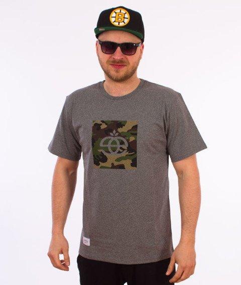 Elade-Icon Camo T-Shirt Szary