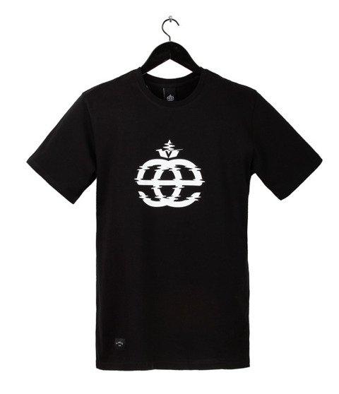 Elade-Icon Glitch T-Shirt Black