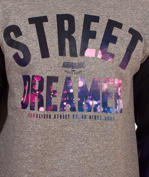 Equalizer-Street Dreamer Bluza Szara/Multikolor