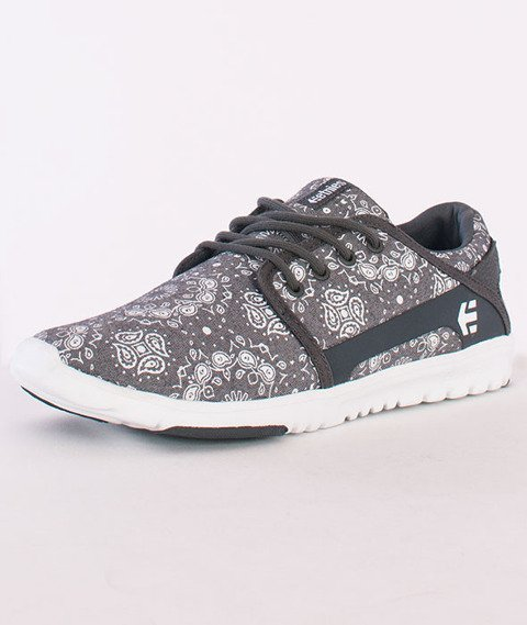 Etnies-Scout Dark Grey/White