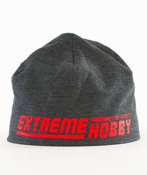 Extreme Hobby-EH Line Czapka Zimowa Grafitowa