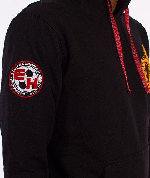 Extreme Hobby-Football Terrorist Bluza Kaptur Czarny