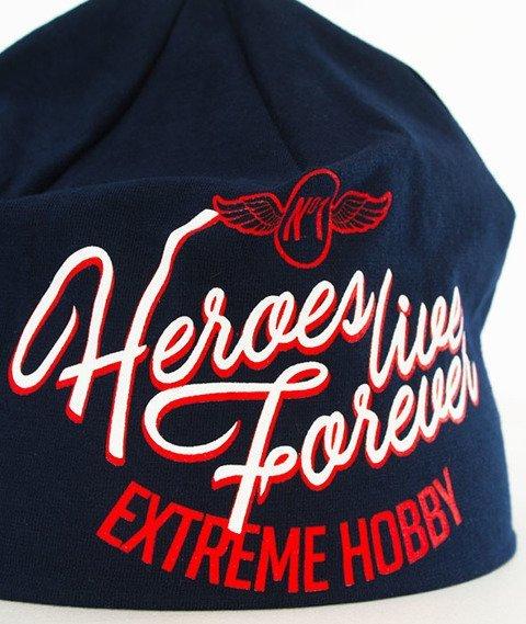 Extreme Hobby-NBR ONE Czapka Zimowa Granatowa