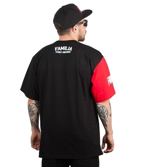 Familia Wear-Granat Ogień T-Shirt Czarny