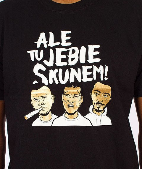 Gang Albanii-Skun T-Shirt Czarny