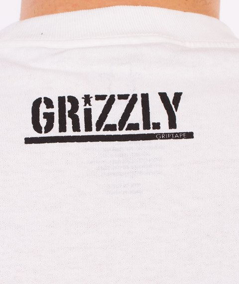 Grizzly-Kayak OG Bear T-Shirt White
