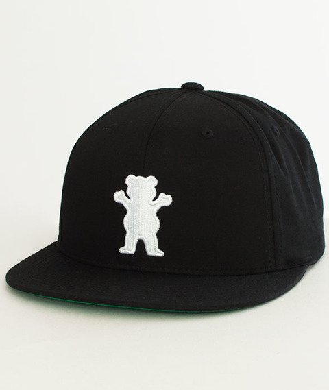 Grizzly-OG Bear Snapback Black