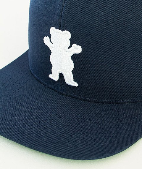 Grizzly-OG Bear Snapback Navy