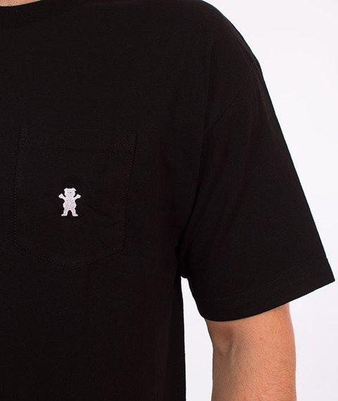 Grizzly-OG Embroidered Pocket T-Shirt Black