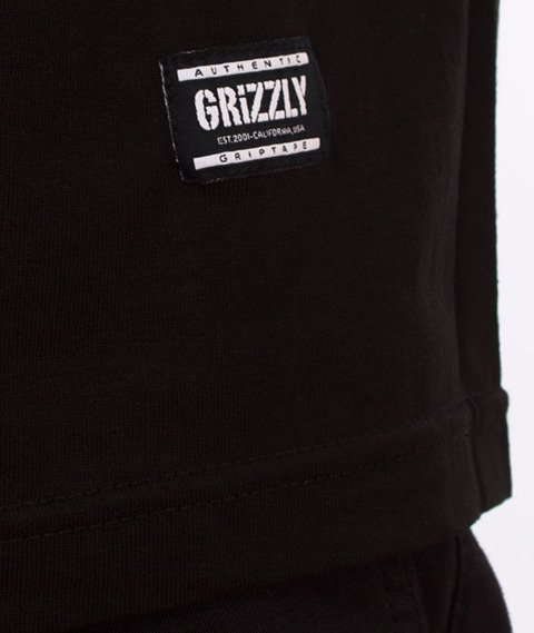 Grizzly-OG Stamp Logo Basic T-Shirt Black