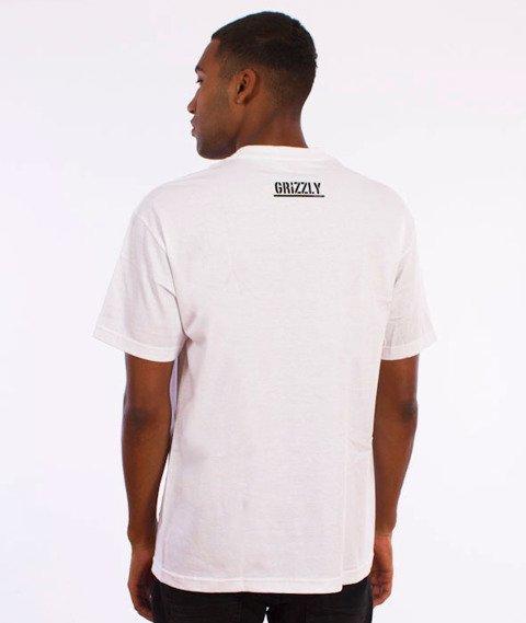 Grizzly-OG Stamp Logo T-Shirt White