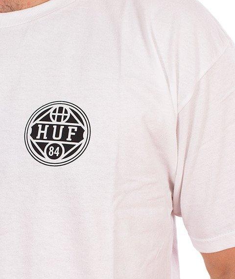 HUF-Shield T-Shirt Biały