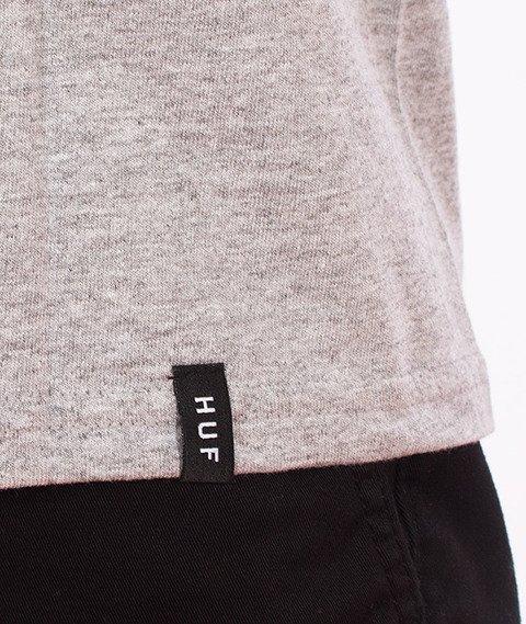 HUF-Triple Triangle T-Shirt Szary