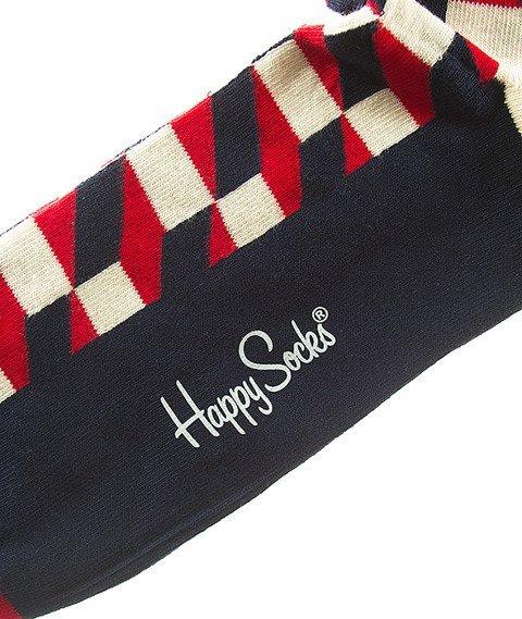 Happy Socks-Filled Optic Skarpety [FO01-068]