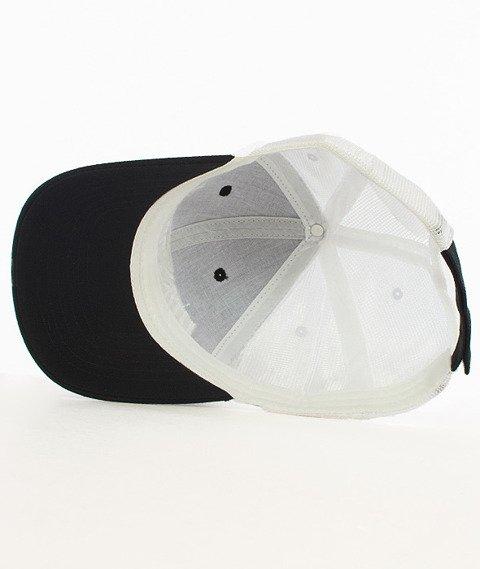Hipotonia-HTA Brand Snapback Czarny/Biały/Biały