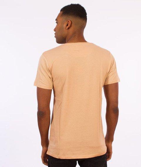 Hype-Camo Script T-Shirt Beżowy/Camo