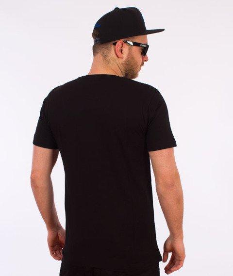 Hype-Giltch Script T-Shirt Czarny