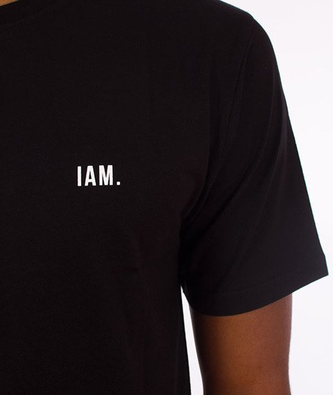 IAM. CLOTHES-Flag T-shirt Czarny