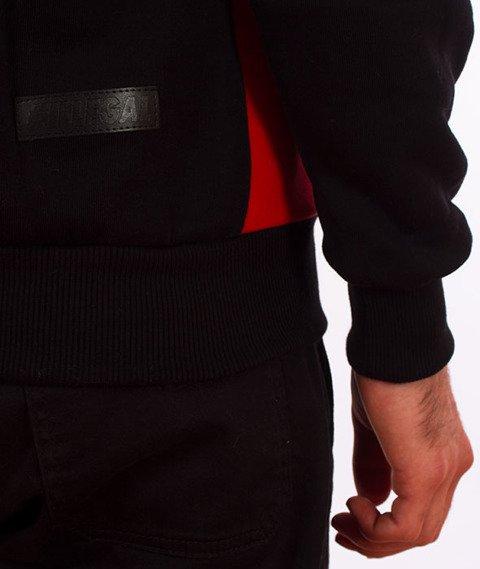 Illegal-Illegal Red Bluza Z Kapturem Czarny/Czerwony