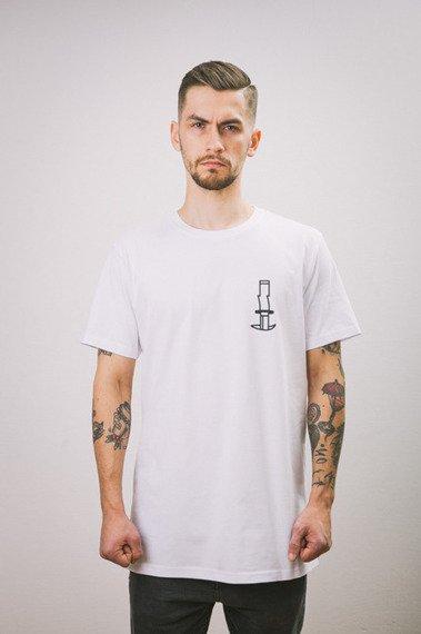 Intruz-Cut T-Shirt Biały