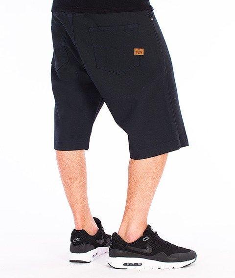 Intruz-Intruz Shorts Spodnie Krótkie Granatowe