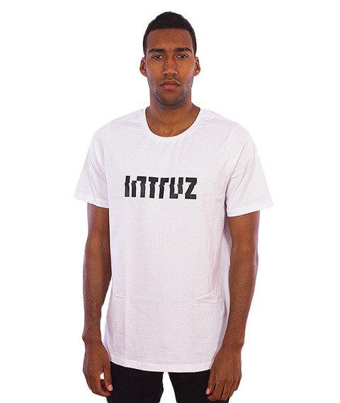 Intruz-Logo T-Shirt Biały