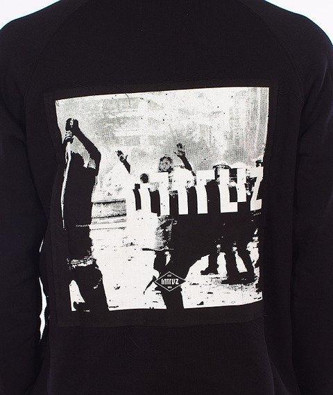 Intruz-Riot Bluza Z Kapturem Czarna